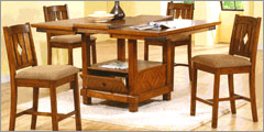 Countertop Height Kitchen Table Sets : Dining Table: Countertop Height Dining Table Sets