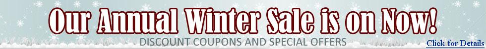 Winter Sale, Special Deals