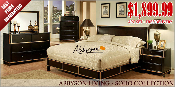 Abbyson Soho Central Park Collection SALE