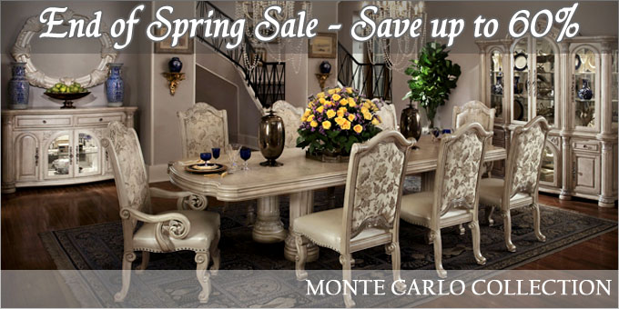 AICO Monte Carlo Dining Set